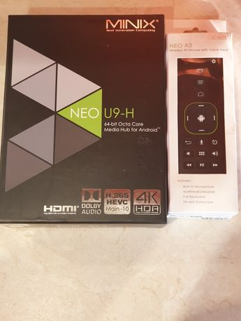 Minix NEO U9-H + A3 Air Mouse Android TV Box