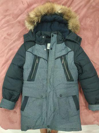 Куртка зимняя для мальчика рост146