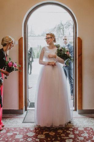Piękna suknia ślubna za niewielkie pieniądze