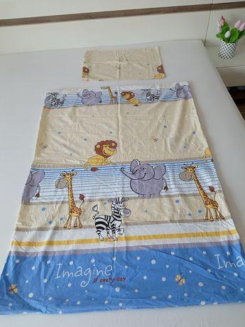 2 zestawy pościeli + poduszka i kołderka dla dziecka