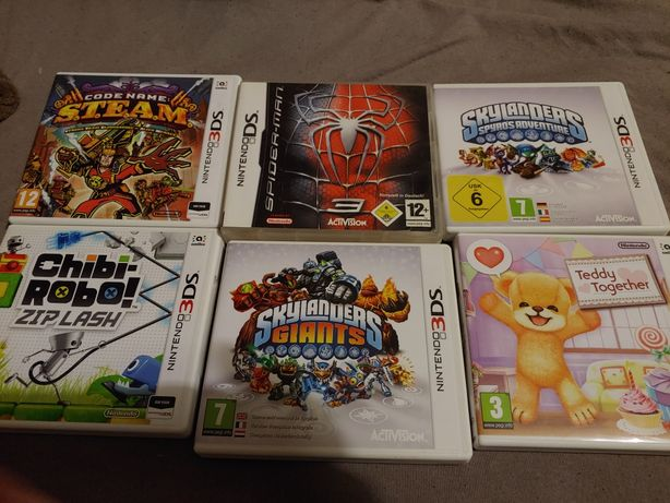 Gry na nintendo 3ds/ds