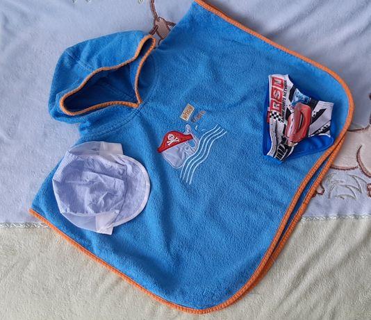 Полотенце, рушник,плавки, панамка, панама пляжный набор,