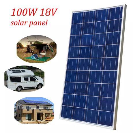 Kit solar 100w de fácil instalação