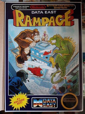 Poster jogo Rampage
