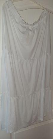 Długa bawełniana spódnica