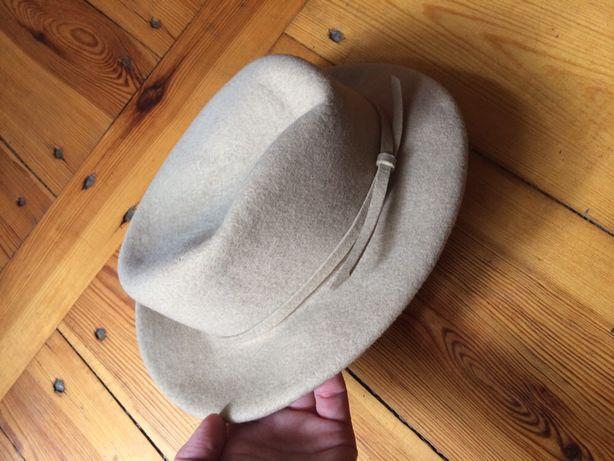 kapelusz kapelusik damski vintage 56 cm
