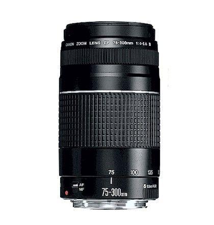 Obiektyw CANON EF 75-300 mm f/4-5.6 III - NOWY