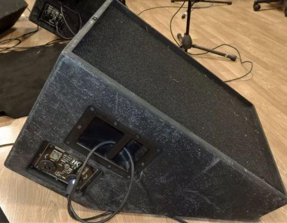 Monitores de palco HK SM 115 realmente profissionais - touring