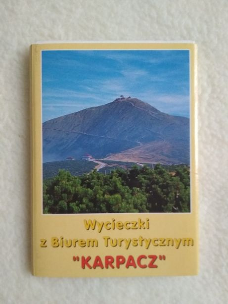 Mini pocztówki w harmonijce Wycieczki z Biurem Turystycznym KARPACZ m