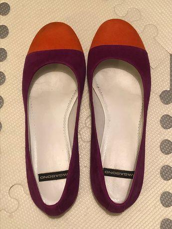 Dziś -60% Baleriny buty Vagabond r. 38 jak nowe (skóra)