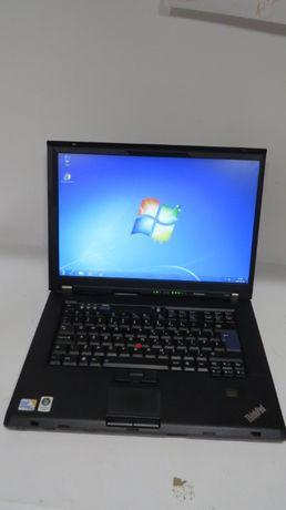 Laptop Lenovo T500 2 x 2.53Ghz/ 4gb / 160 Gb Intel Zdalne Nauczanie Gw