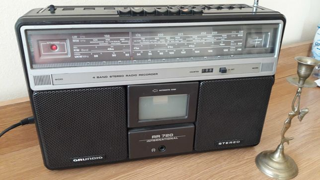 Radiomagnetofon kasetowy Grundig