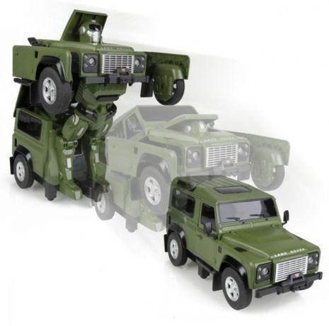Трансформер робот Land Rover Defender на радиоуправлении (1:14)