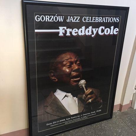 Duże plakaty Gorzów Jazz Celebrations.
