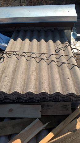 Шифер 8-ми волновой 1-100 листов. Звоните.
