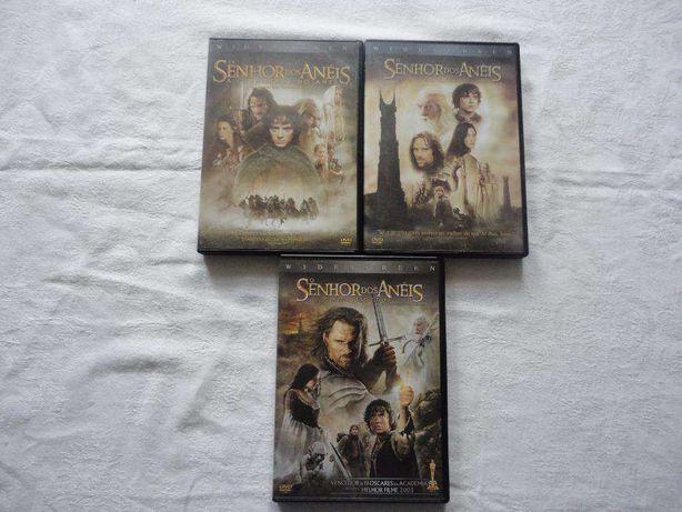 Trilogia O Senhor dos Anéis DVD
