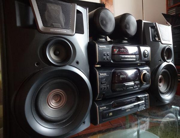Wieża Technics SA-EH60 zestaw stereo