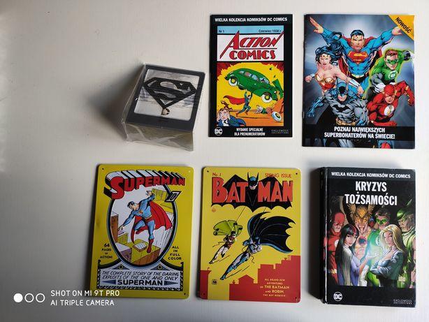 Wielka kolekcja komiksów dc WKKDC + dodatki