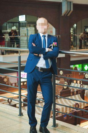 Мужской свадебный костюм (пиджак, брюки, рубашка, галстук)