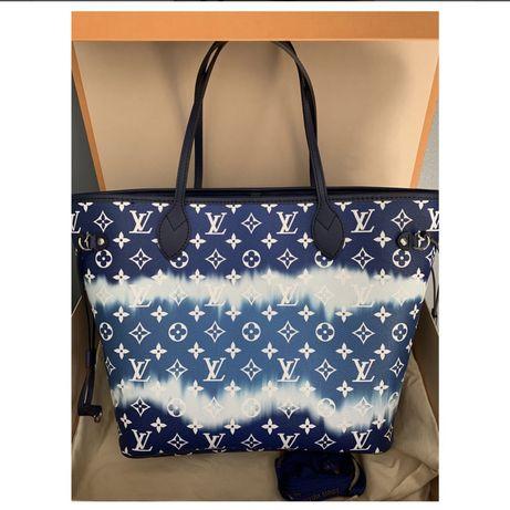 Louis Vuitton, Coleção Louis Vuitton Neverfull MM Escale Azur summer 2