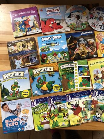 Bajki vcd na dvd, pc, gry, poradnik dla rodziców gratis
