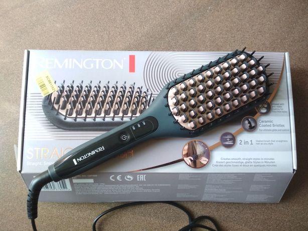 Выпрямитель волос, щетка-выпрямитель REMINGTON CB7400