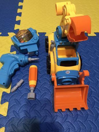 Конструктор машинка Huile Toys