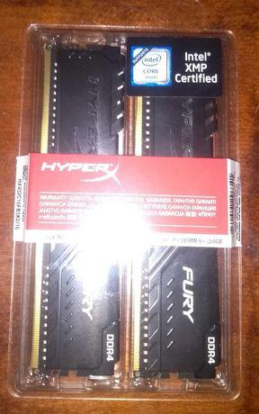 Kingston HyperX DDR4-3200 16Gb PC4-25600 (Kit of 2x8192) Fury Black