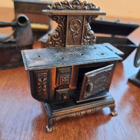 точилка для карандашей миниатюрная печь бронза Германия