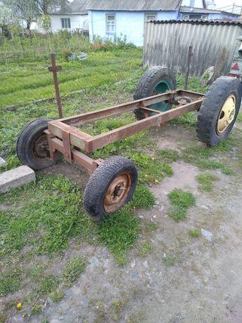 Рама на саморобний міні трактор