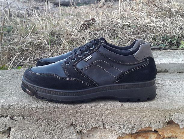 Кожаные ботинки мокасины полуботинки Gallus 45 Р. Оригинал
