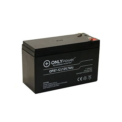 Baterias 12V 7.2Ah OnlyPower