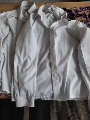 koszule białe dla chłopca