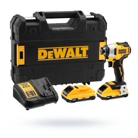 Zakrętarka udarowa DeWalt DCF809D2T akumulatorowa 18V 2 aku. 2Ah klucz