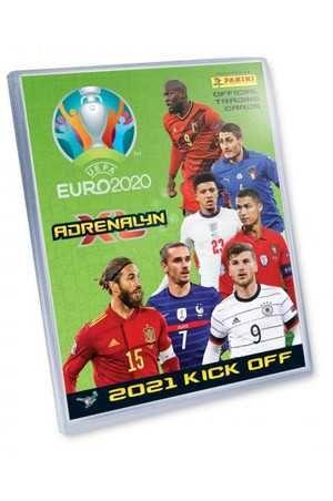 Karty Panini UEFA Euro 2020. Adrenalyn XL. EURO 2021 KICK OFF