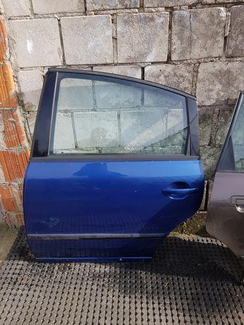 Drzwi lewy tył passat b5 sedan przedlift