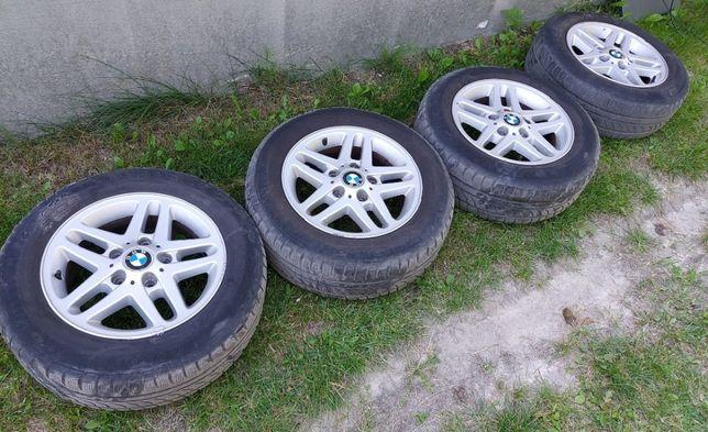 BMW FELGI Aluminiowe z Oponami zima 195/65/15