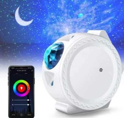PROJEKTOR LAMPKA rzutnik Smart WiFi Alexa