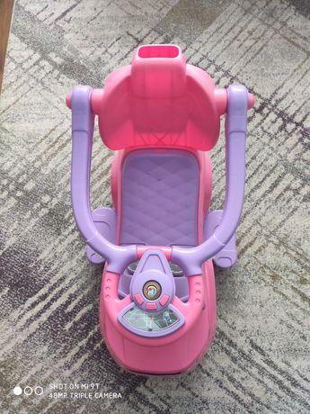 Jeździk pchacz 3w1 dla dziewczynki