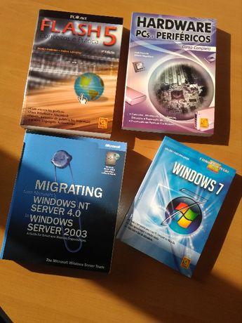 Conjunto de mais de 15 livros tecnicos de informática entre outros