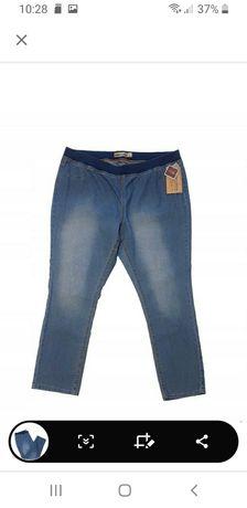 Spodnie jeansy modne 58