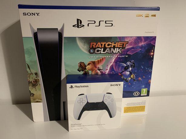 (ENTREGO HOJE) Ps5/Playstation 5 Standard + Extras (Selada)
