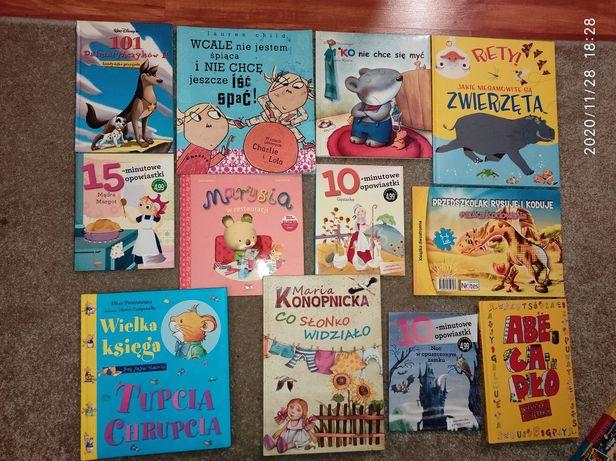 Książki dla dzieci różne tytuły
