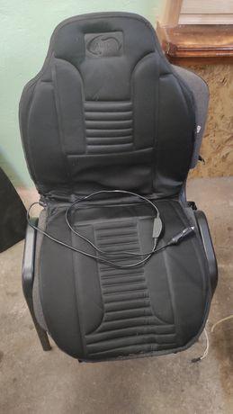 Накидка на сиденье авто с подогревом