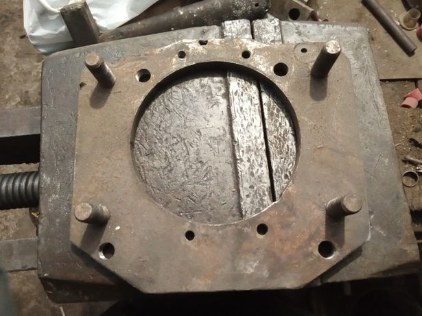 Плита переходная для двигателя Indenor (Пежо Даф Форд) под КПП УАЗ