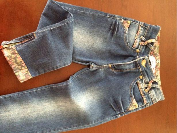 джинсы на 7-8 лет