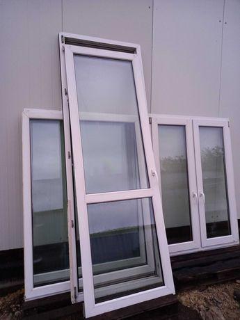 Drzwi balkonowe 245x88 Plastik