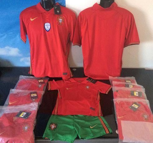 Camisola seleção Portugal Euro 2020 entrega imediata