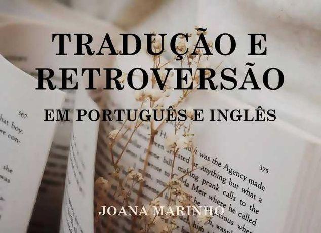 Serviços de Tradução e Retroversão em Português e Inglês (Licenciada)