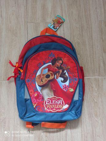 Nowy plecak dla dziewczynki